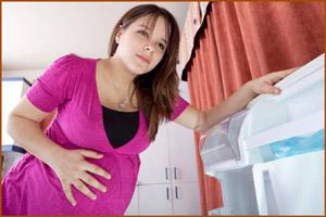 Боли в правом боку у беременной