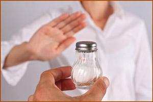 Ограничить употребление соли