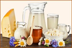 Продукты с кислого молока