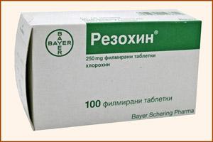 Препарат Резохин