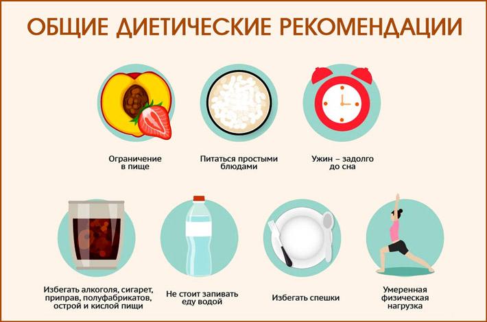 Общие диетические рекомендации
