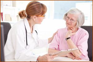 Консультация с лечущим врача
