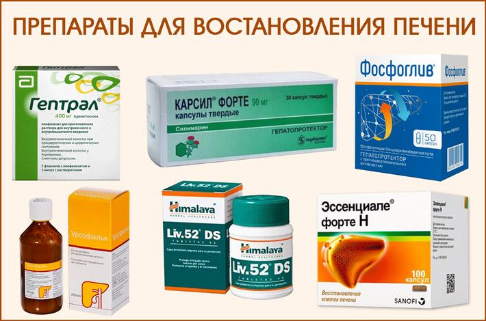Препараты для печени