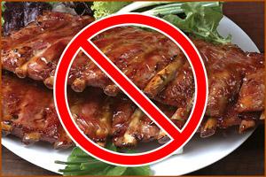 Запрет жареной пищи