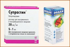 Лекарства от аллергии