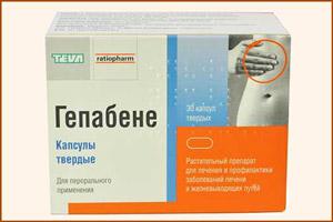 Препарат Гепабене