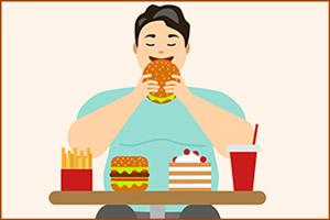 Прием вредной еды