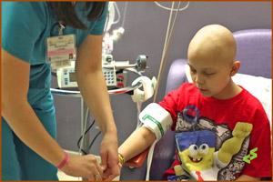 Проведение химиотерапии ребенку