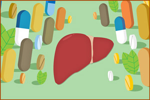 Интоксикация печени лекарствами