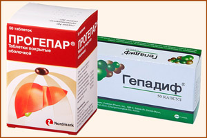 Препараты при лечении цирроза
