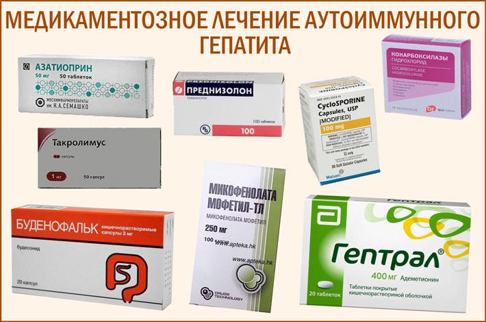 Препараты для лечения аутоиммунного гепатита