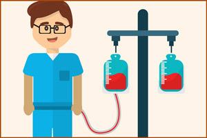Лица, переливающие кровь рискуют заразиться гепатитом