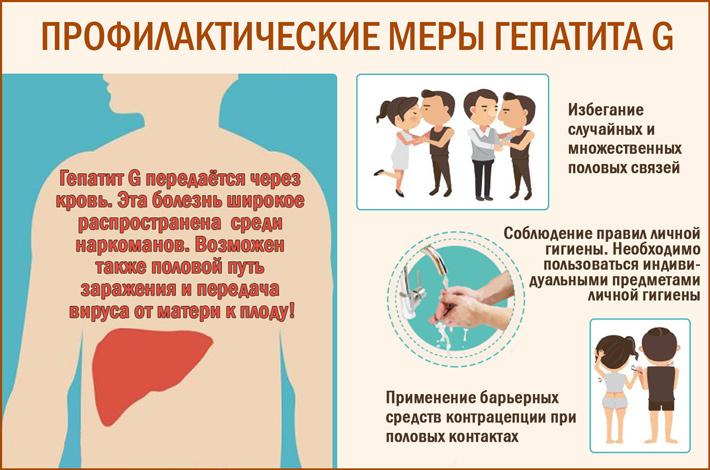Гепатит G: профилактика