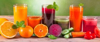 Сокотерапия: чистка печени соками