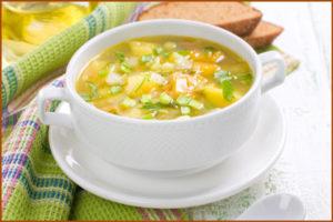 Диета при гепатите С: нежирные супы