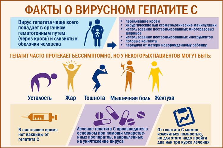 Вирусный гепатит С: полезные факты