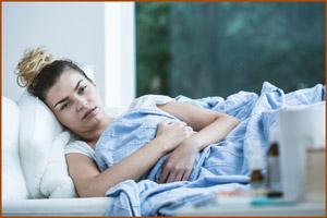 Девушка с гепатитом С