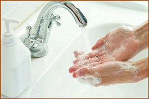 Необходимость мыть руки